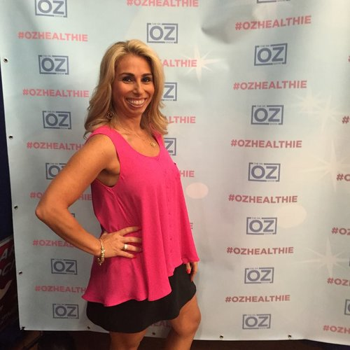 Backstage after taping the Dr. Oz Show