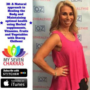 My Seven Chakras with Aditya - A Natural approach to Healing the Body with Stacey Chillemi