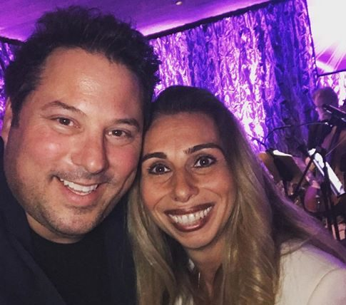 Greg Grunberg and Stacey Chillemi at the Epilepsy Conference in Washington DC