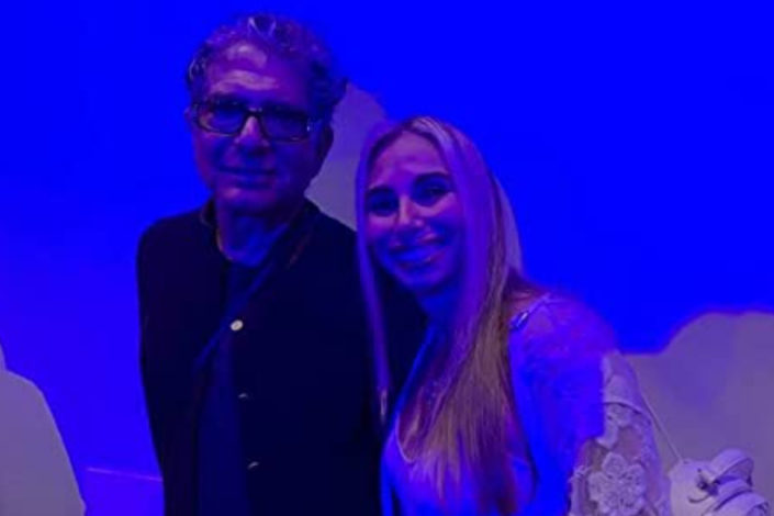 Deepak Chopra and Stacey Chillemi